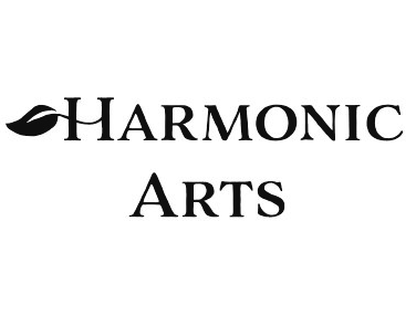 Harmonic Arts Black and White Logo